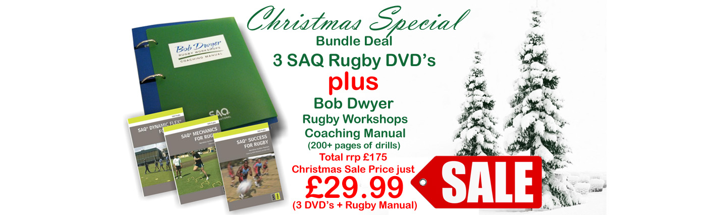 Bob Dwyer Rugby Manual - Christmas Offer