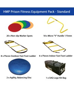 HMP Prison Fitness Equipment Pack - Standard