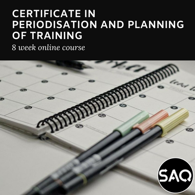 Certificate in Periodisation & Planning of Training