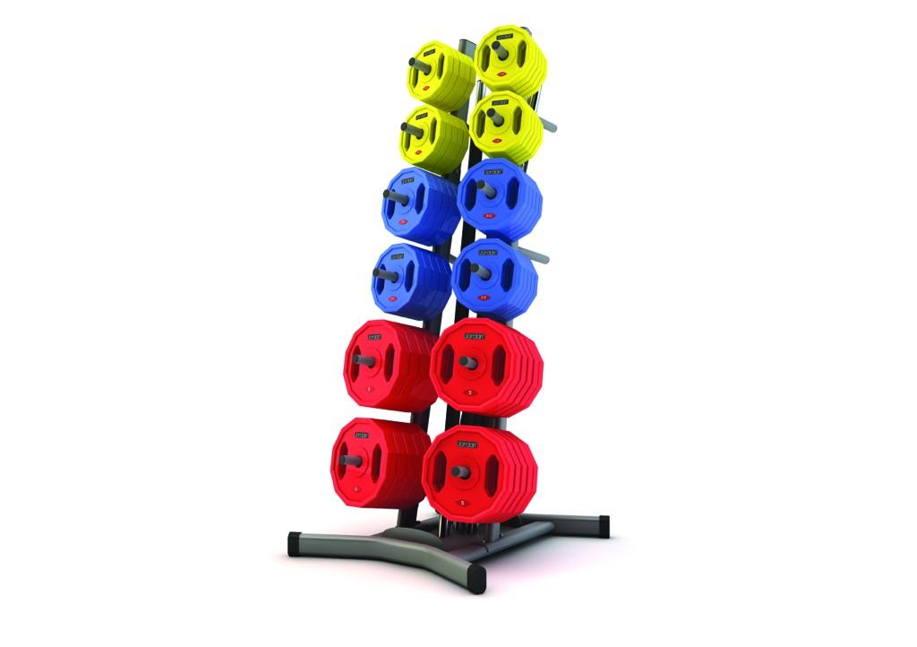 12 x Studio Barbell sets & Static rack