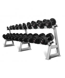 10 kettlebells set with rack