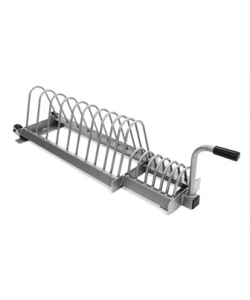 Olympic Training Disc Rack - Silver