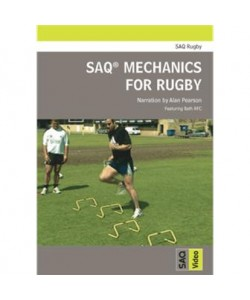 SAQ® Mechanics for Rugby DVD
