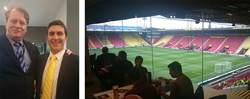 Watford FC visit October 2016